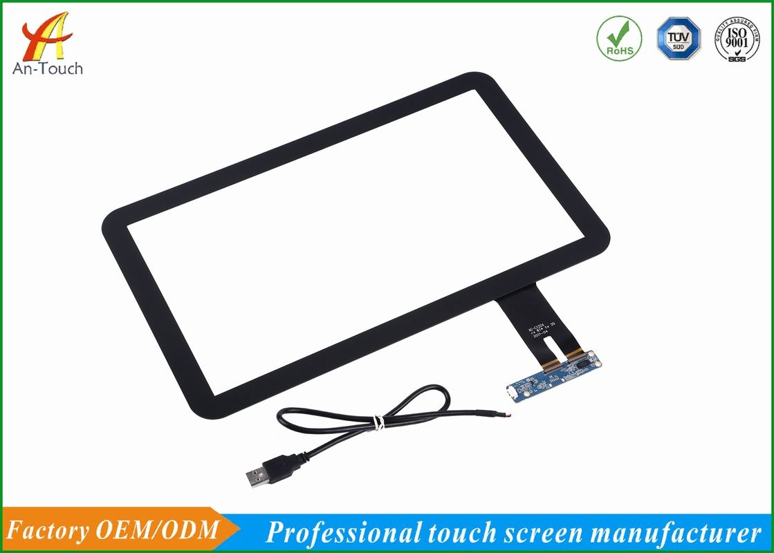 15.6 Inch Advertising Touch Screen High Efficient With Transparent Touch Panel