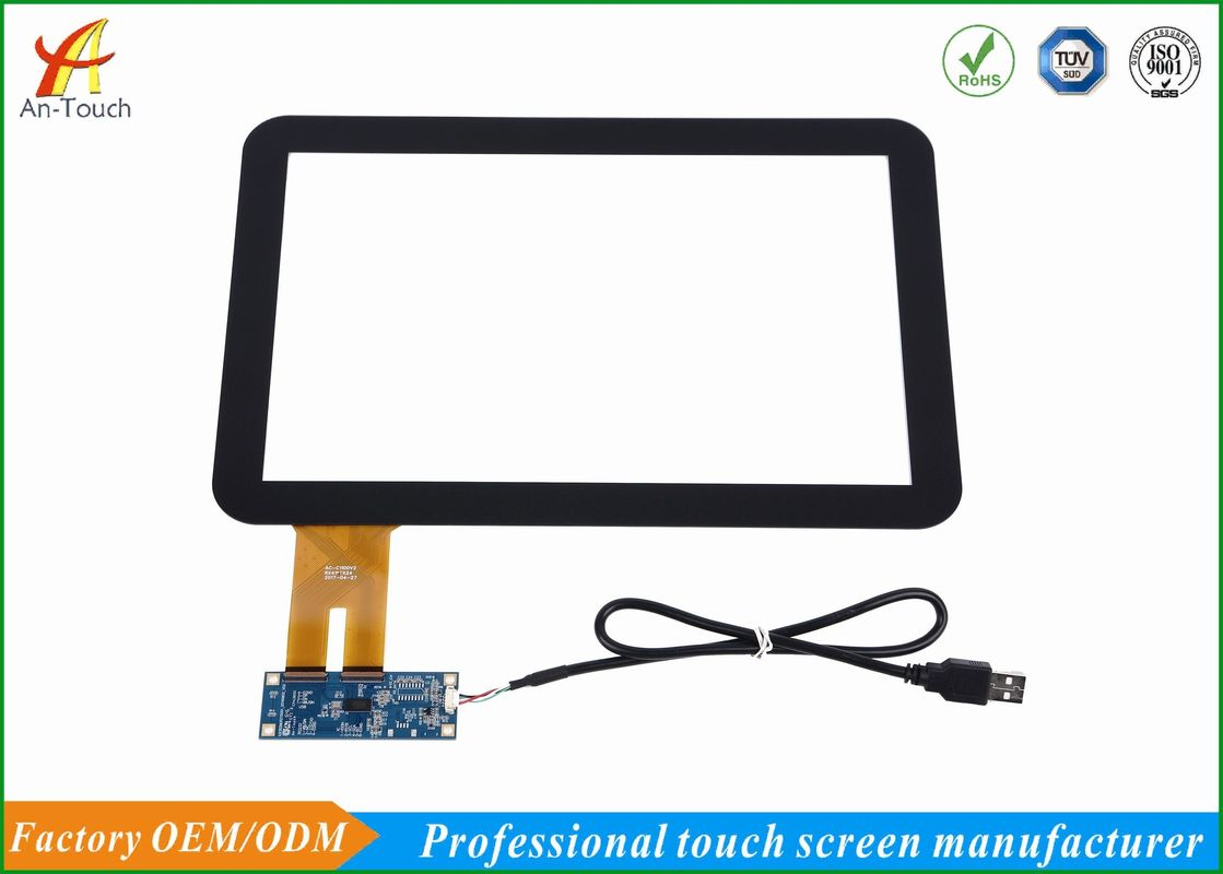 Custom Industrial Panel Pc Touch Screen , 12.1 External Usb Touch Screen