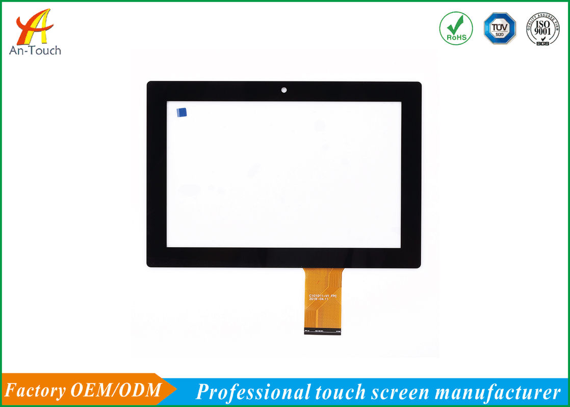 Waterproof Full HD Industrial Touch Panel Aluminum Alloy Front Bezel